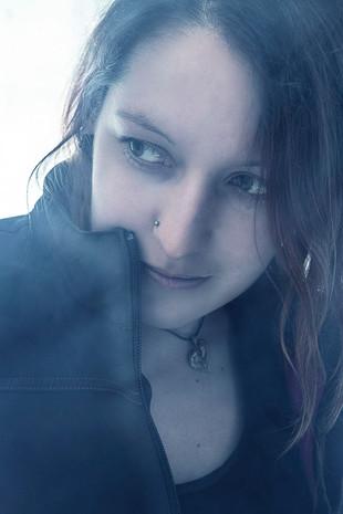 Linda im Nebel