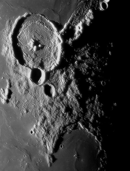 Lune, le cirque Gassendi
