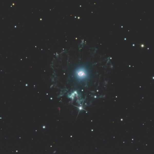NGC 6543 - Cat's eye nebula