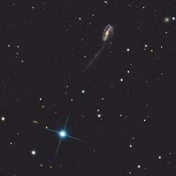 PGC 57129 - Tadpole galaxy