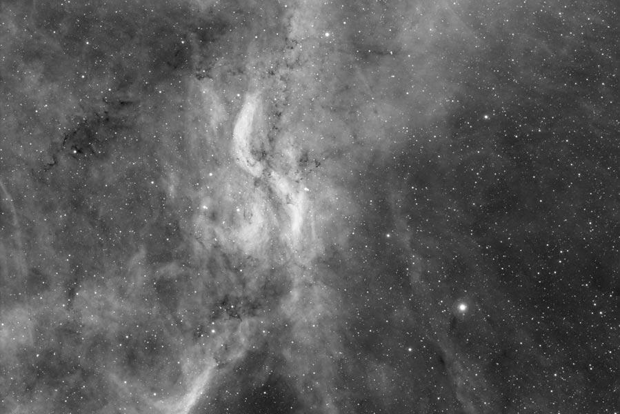 DWB 111 - X nebula