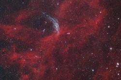WR 134 - Ring nebula