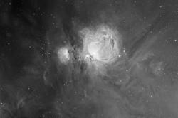 M 42 wide field - Orion nebula