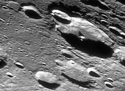Lune, cratère Biela