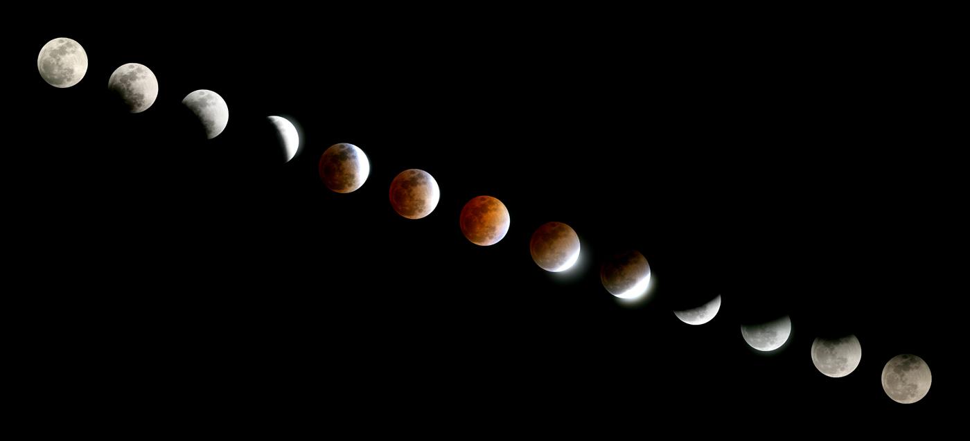 Eclipse lunaire du 03/11/2008