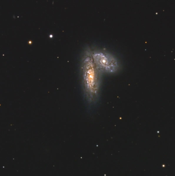 NGC 4567 et 4568