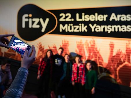 fizy 22. Liseler Arası Müzik Yarışması Başladı