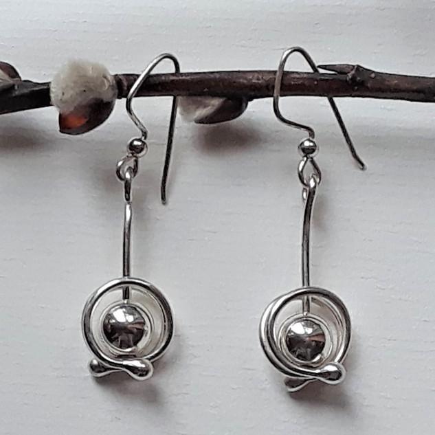 Orbit E1 Arg-sterling bead