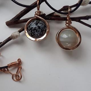 In the Loop Necklace N1 Bronze