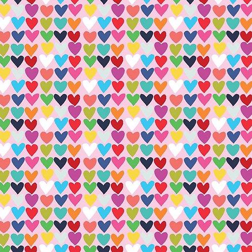 Happy! | Clothworks | Small Hearts