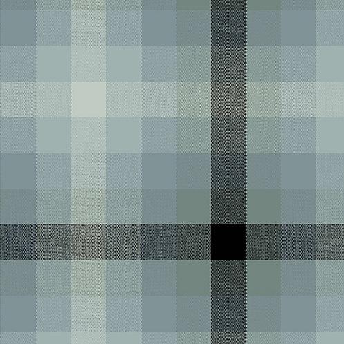 Kaleidoscope Stripes & Plaids  | Alison Glass | Plaids - Charcoal