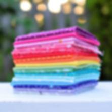 Rainbow Blender - Half Yard Bundle | Shop Curated Bundle - 19 Fabrics