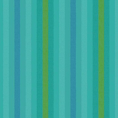 Kaleidoscope Stripes & Plaids    Alison Glass   Stripes - Teal