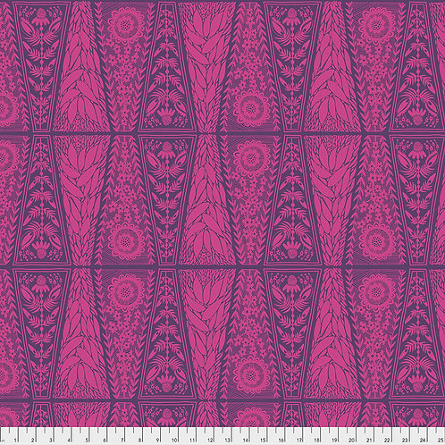 Dresden Lace - Fuchsia | Second Nature Collection - Anna Maria Horner