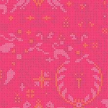 Sun Print 2020 | Alison Glass Fabric | Menagerie - Salmon