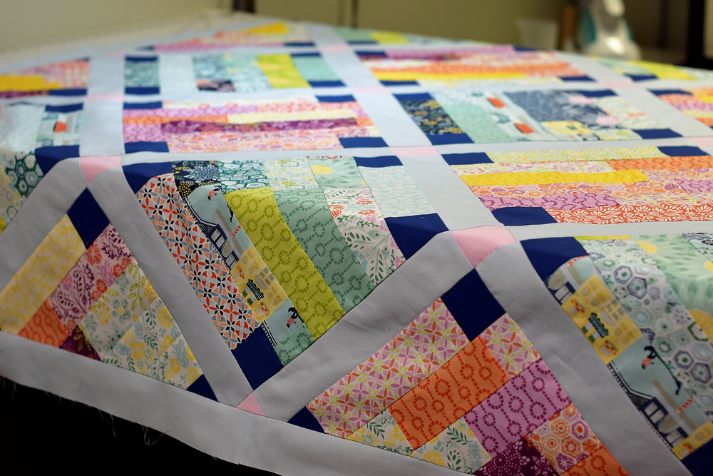 This would make a beautiful table cloth!
