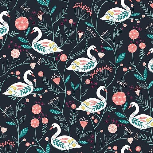 Rivelin Valley | Dashwood Studio | Swan on Black