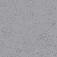 Sun Print 2020 | Alison Glass Fabric | Embroidery - Cloud