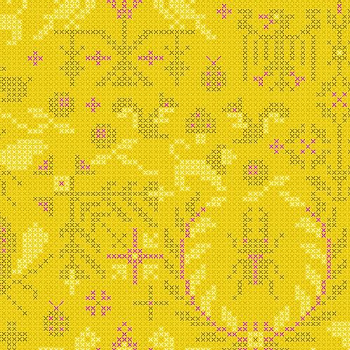 Sun Print 2020 | Alison Glass Fabric | Menagerie - Pencil