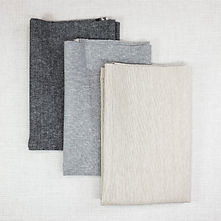 Essex Linen Canvas Yarn Dyed - Neutrals | Half Yard Bundle - 3 Fabrics