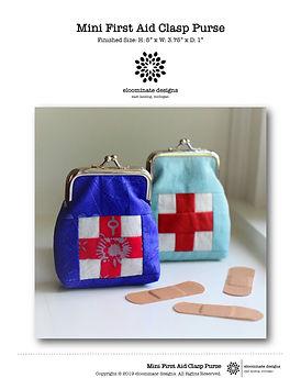 Mini First Aid Clasp Purse Cover Image.j