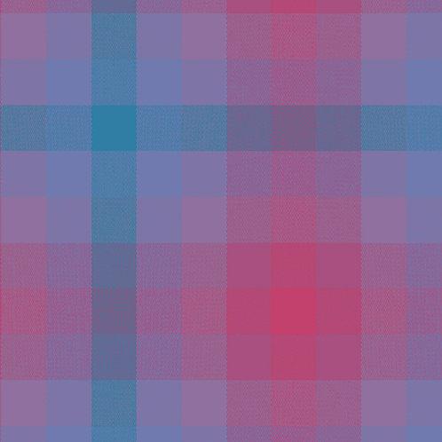 Kaleidoscope Stripes & Plaids    Alison Glass   Plaids - Thistle
