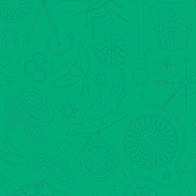 Sun Print 2020 | Alison Glass Fabric | Embroidery - Turtle