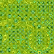Sun Print 2020 | Alison Glass Fabric | Menagerie - Lichen