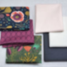 Forest Jewels & Cirrus Solids | Shop Fat Quarter Bundle - 6 Fabrics