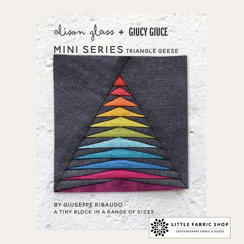 Alison Glass + Giucy Giuce Mini Series   Triangle Geese