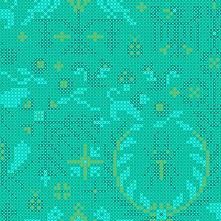 Sun Print 2020 | Alison Glass Fabric | Menagerie - Mermaid