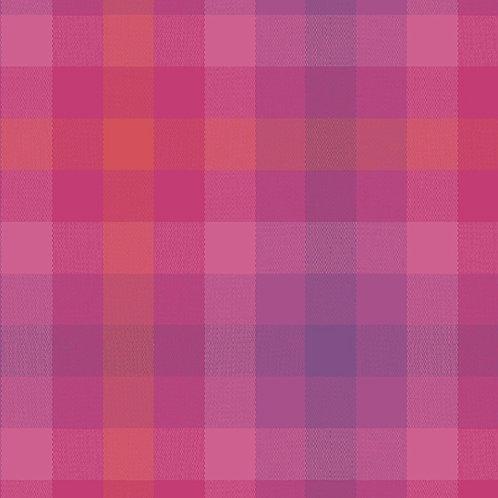 Kaleidoscope Stripes & Plaids  | Alison Glass | Plaids - Magenta