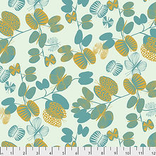 Butterfly Leaves - Cerulean | Bookhou for Anna Maria's Conservatory