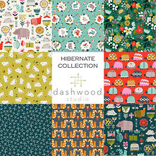 PRE-ORDER   Hibernate Collection   Dashwood Studio   Fat Quarter Bundle 8 Fabric