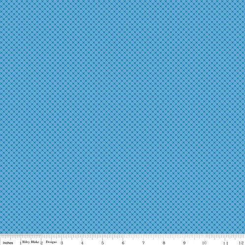 Kisses - Medium Blue | Riley Blake Design