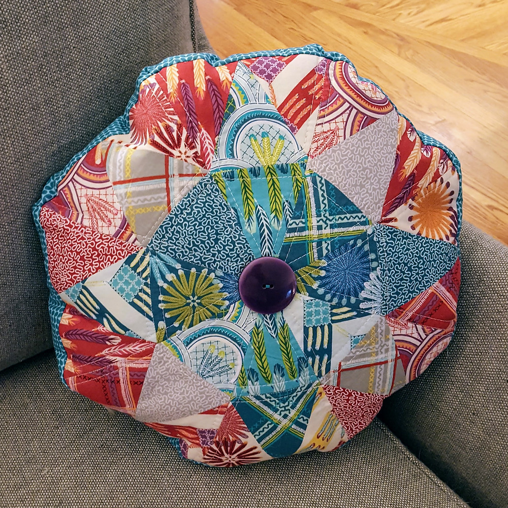 Triangle Octagon Pillow