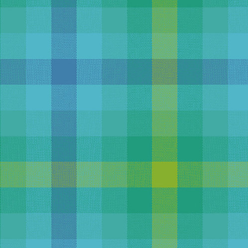 Kaleidoscope Stripes & Plaids  | Alison Glass | Plaids - Teal
