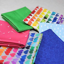 Shine Bright | Shop Curated Fat Quarter Bundle - 6 Fabrics