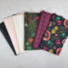 Forest Jewels & Cirrus Solids | Shop Curated Half Yard Bundle - 6 Fabrics