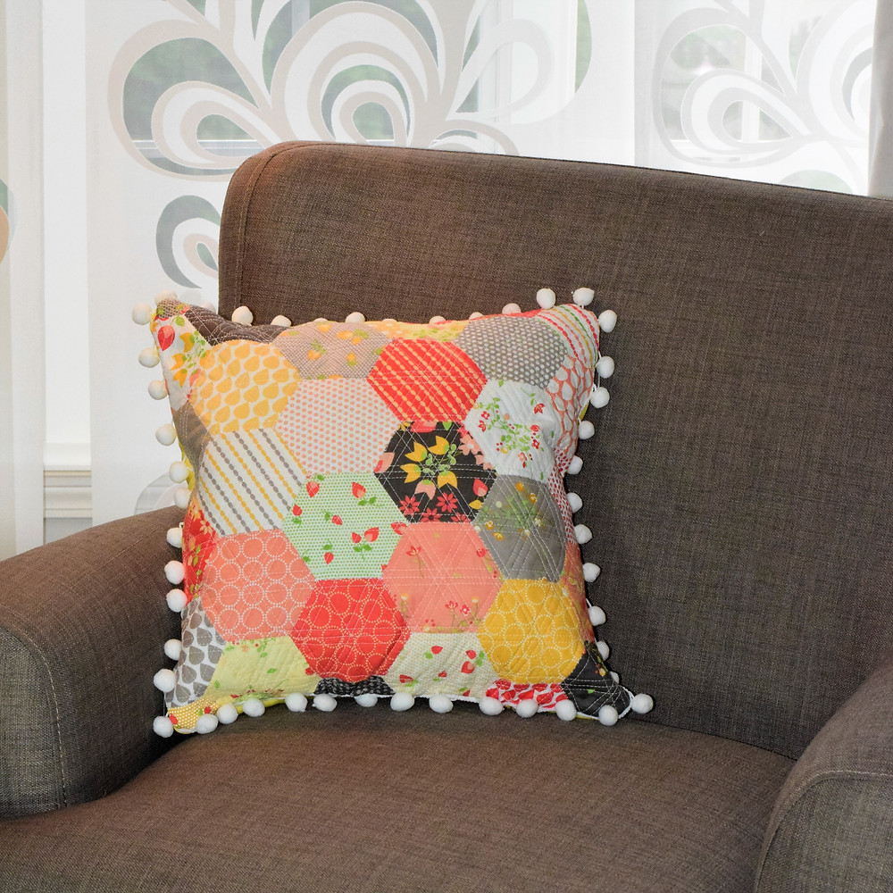 Front of Hexi Pillow