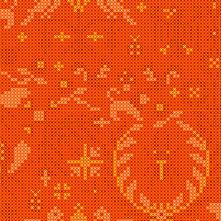 Sun Print 2020 | Alison Glass Fabric | Menagerie - Tiger