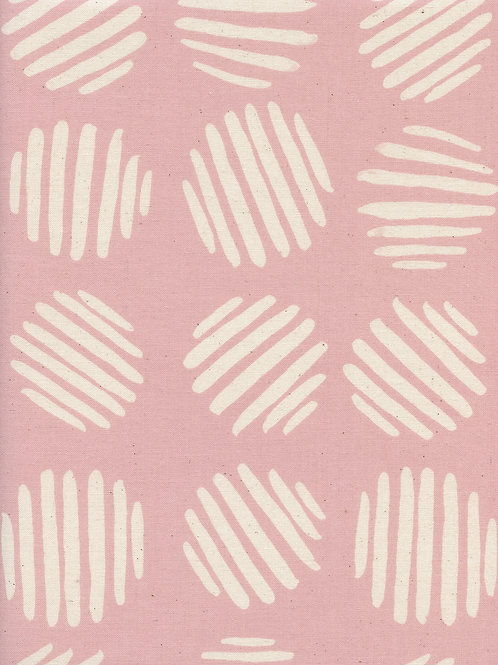 Panorama - Coin Dots - Cotton Candy | Cotton+Steel Fabric