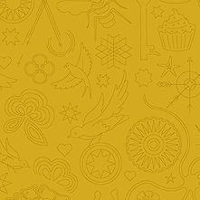 Sun Print 2020 | Alison Glass Fabric | Embroidery - Yarrow