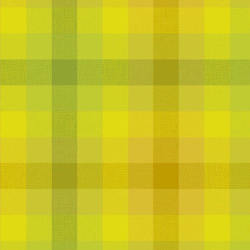 Kaleidoscope Stripes & Plaids    Alison Glass   Plaids - Sunshine