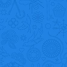 Sun Print 2020 | Alison Glass Fabric | Embroidery - Hydrangea