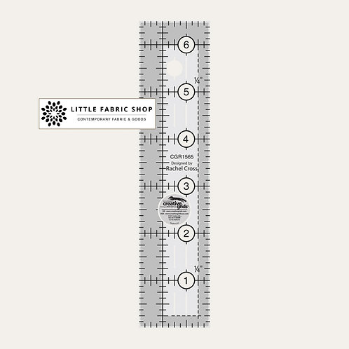 Creative Grids  | Quilt Ruler 1-1/2in x 6-1/2in