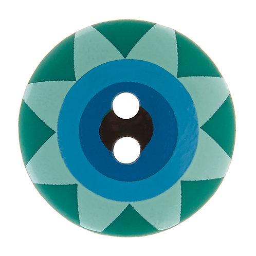 Kaffe Fassett Button | Star Flower