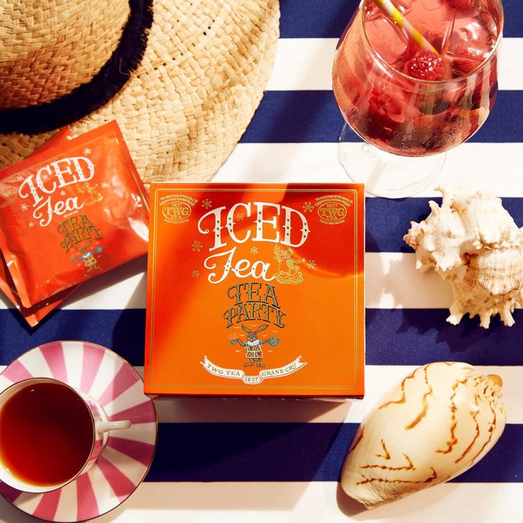 アイスティーバッグコレクションに 「Tea Party Tea」が新登場