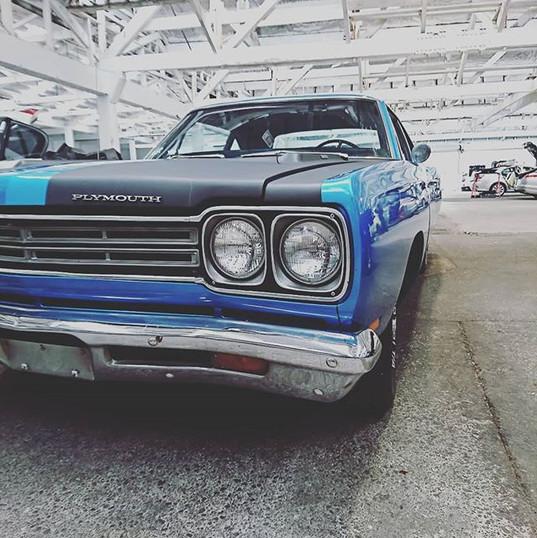 1969 Roadrunner, now running the New Zea
