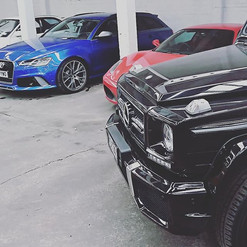 24 cylinders between these 3 beautiful c